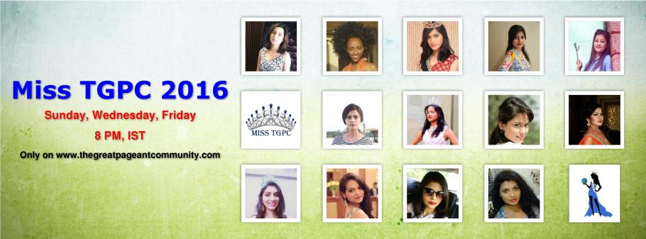 Miss TGPC 2016 Contestants