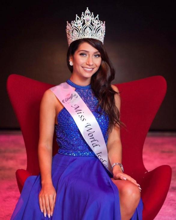 Anna Lara Orlowska crowned Miss Iceland 2016