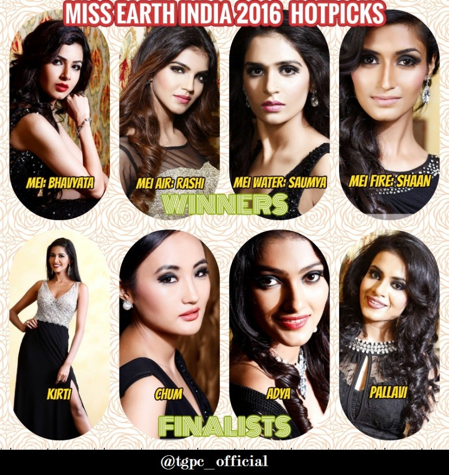 Miss Earth India 2016: Final Hotpicks & Review