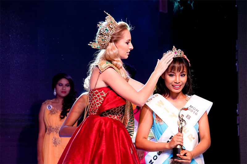 Zeenus Lama crowned Miss Grand Nepal 2016
