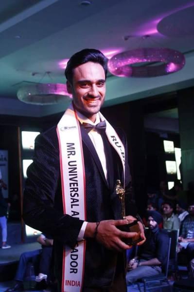 Parmeet Wahi will represent India at Mister Universal Ambassador 2016