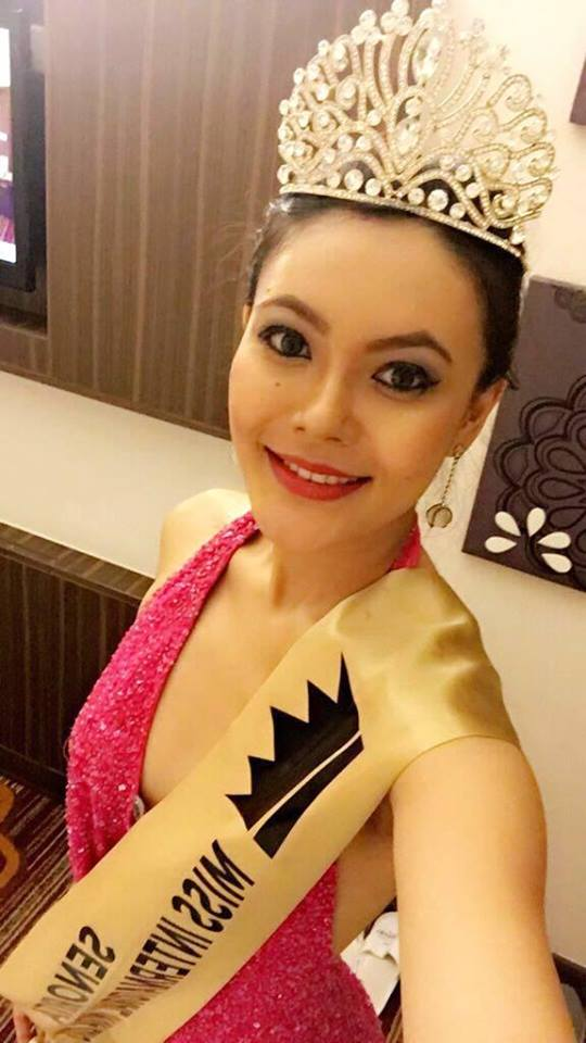 Rewati Chetri  from Assam won Senorita India 2016 she will represent India at Miss International 2016 pageant