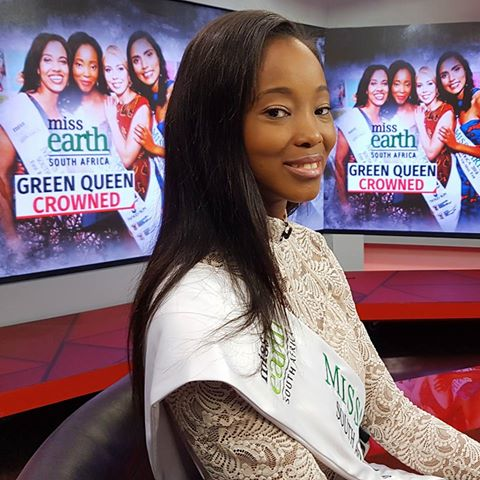 Nozipho Magagula Miss Earth South Africa