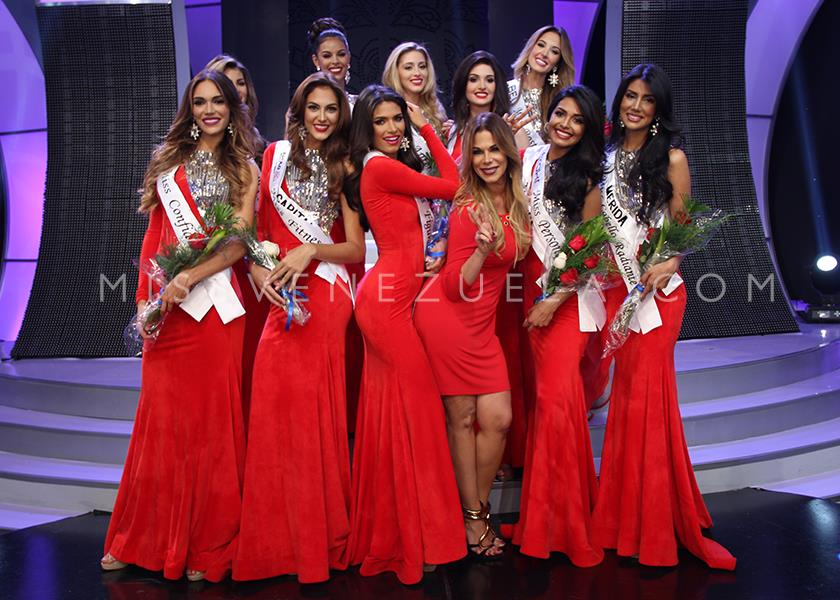 Miss Venezuela 2016 Mid Length Photo Shoot & sub contest winners