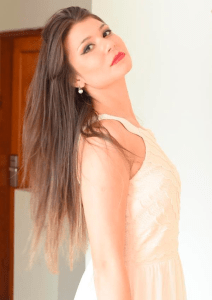 Thalía García is representing Uruguay at Miss United Continents 2016