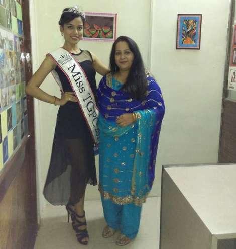 Bhairavi Burad is Miss TGPC 2016
