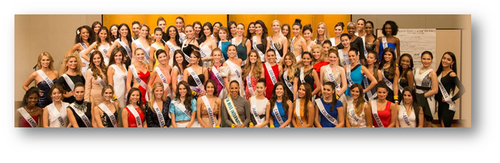 In pic: Miss International 2015 Candidates - courtesy Miss International website