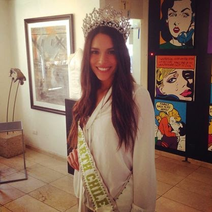 Catalina Caceres was crowned as the winner of Miss Universe Chile 2016.