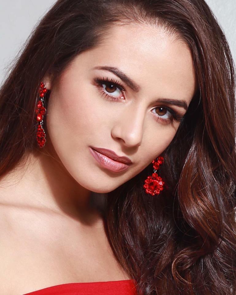 Adrianna David is representing at Miss USA 2017