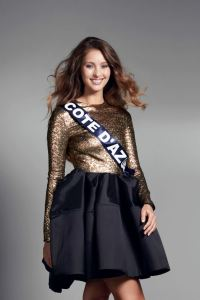 Jade Scotte is representing Côte d'Azur at Miss France 2017