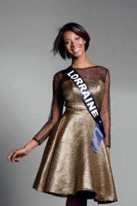 Justine Kamara is representing Lorraine at Miss France 2017