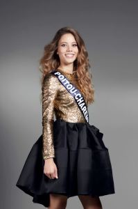 Magdalène Chollet is representing Poitou-Charentes at Miss France 2017