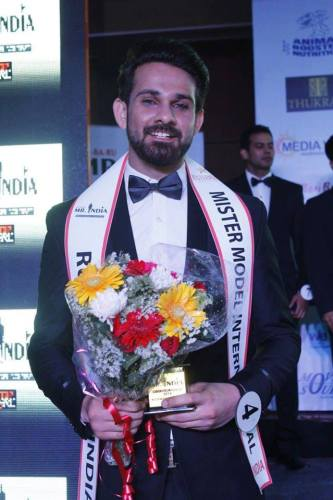 Anurag Fageriya Rubaru Mister Model International India 2016