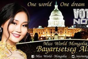 Bayartsetseg Altangerel from Mongolia wins 'Miss Popularity' by TGPC