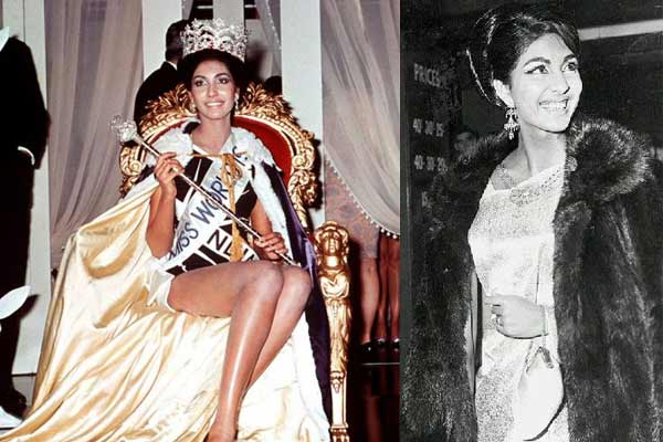 Reita Faria, Miss World 1966 from India