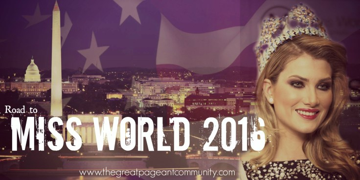 Miss World 2016 Pre -Arrival Hotpicks the new Miss World will be corwned on 19th December 2016