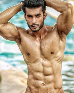 Varun Verma during Mr.India 2016 Bare Body Photo Shoot