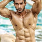 Varun Verma during Mr.India 2016 Bare Body Photo Shoot