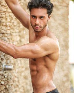 Viren Barman during Mr.India 2016 Bare Body Photo Shoot