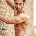 Viren Barman during Mr.India 2016 Bare Body Photo Shoot