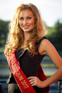 Amandine Charlier is one fo the Miss Belgium 2017 contestant