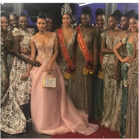 Lauriela Márcia Martins is Miss Angola 2017
