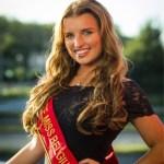 Ellen Caen is one fo the Miss Belgium 2017 contestant