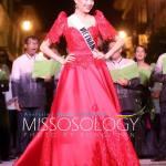 Miss Vietnam-Đặng Thị Lệ Hằng during terno fashion show