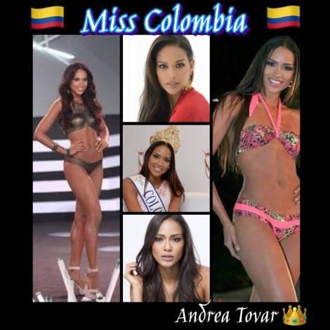 Miss Colombia, Andrea Tovar