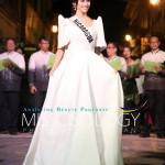 Miss Nicaragua-Marina Jacoby during terno fashion show