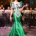 Miss Belgium-Stephanie Geldhof during terno fashion show