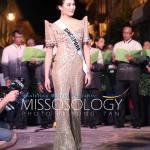 Miss Singapore-Cheryl Chou during terno fashion show