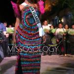 Miss Cayman Islands-Monyque Brooks during terno fashion show