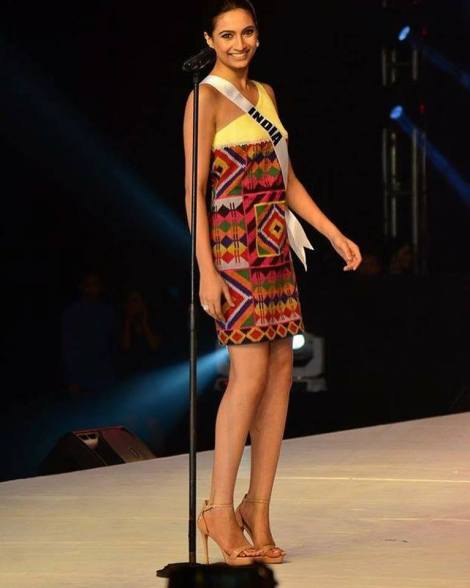 A review on Miss India Universe Roshmitha Harimurthy's performance at the Philipino Haute Couture fashion event organised at Davao city, The Davao Magadang Tapestry Fashion Show.