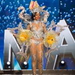 Miss Bahamas,Cherell Williamson during Miss Universe 2016 National Costume presentation