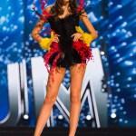 Miss Belgium,Stephanie Geldof during Miss Universe 2016 National Costume presentation