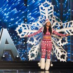 Miss Canada,Siera Bearchell during Miss Universe 2016 National Costume presentation