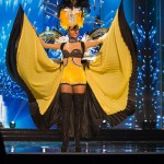 Miss Curacao,Chanelle de Lau during Miss Universe 2016 National Costume presentation