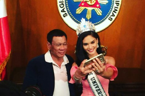 Duterte and Pia