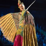 Miss Ecuador,Connie Jimenez during Miss Universe 2016 National Costume presentation ,