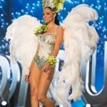Miss Honduras,Sirey Moran during Miss Universe 2016 National Costume presentation