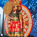 Miss India,Roshmitha Harimurthy during Miss Universe 2016 National Costume presentation