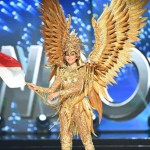Indonesia, Kezia Warouw during Miss Universe 2016 National Costume presentation