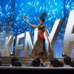 Miss Kenya ,Mary Esther Were during Miss Universe 2016 National Costume presentation