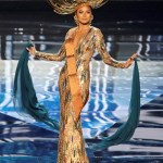 Miss Philippines,Maxine Medina during Miss Universe 2016 National Costume presentation