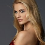 Miss Slovenia- Lucija Potočnik during Miss Universe 2016 glamshots