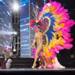 Miss US Virgin Islands ,Carolyn Carter during Miss Universe 2016 National Costume presentation
