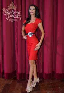 Jehza Huelar is one of the 40 contestants at Binibining Pilipinas 2017