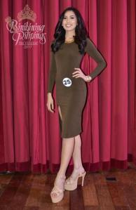 Clarice Marion Villareal is one of the 40 contestants at Binibining Pilipinas 2017
