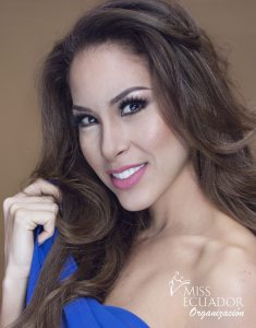 María Belén Ruíz from Guayaquil s one of the contestants of Miss Ecuador 2017